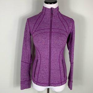 Lululemon Forme jacket purple sz 2